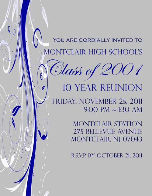 Montclair High School Class of 2001 Reunion